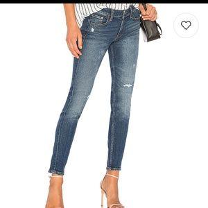 Levi's Altered 711 Skinny Jeans
